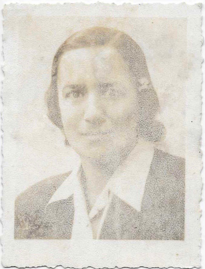 The Image of Silvia Found Slipped in the Frame of Visnapuu's Image, ca. 1950.