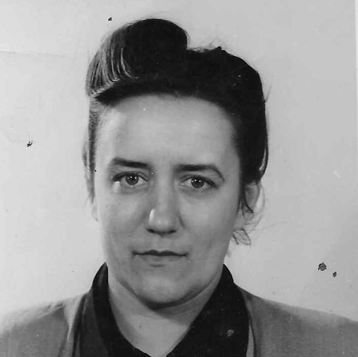 Silvia Narma ca. 1949