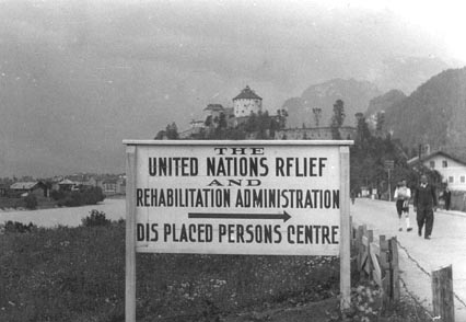 Silvia worked with the UNNRA in 1946/47.